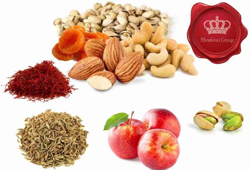 Nuts, Dried Fruits, Spices and Snacks
