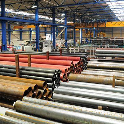 Stahlrohr-Lager