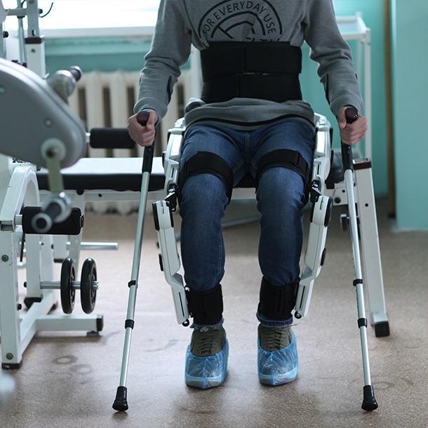 Preparation for testing the Companion  exoskeleton
