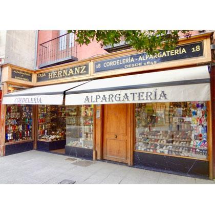 Alpargatería y cordelería en Madrid