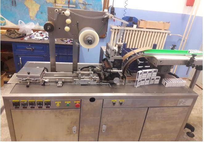 Automatic Cigarette Wrapping Machine