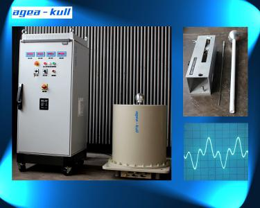 Medium Voltage Test System for higher frequencies