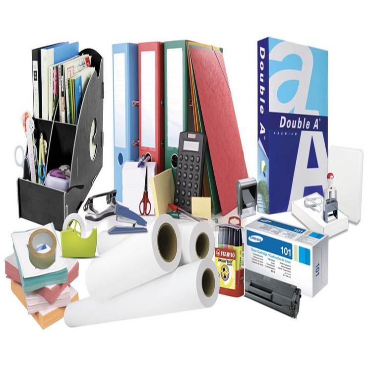Papeterie: papier de bureau et d'imprimerie
