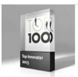 Auszeichnung Top-Innovator 2008 und 2015