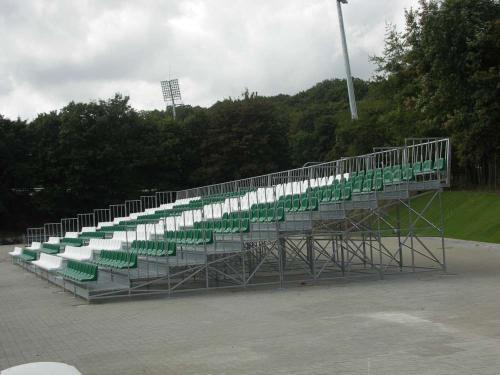 Terraces and grandstands, Metallic bleachers, Temporary grandstands bleacher