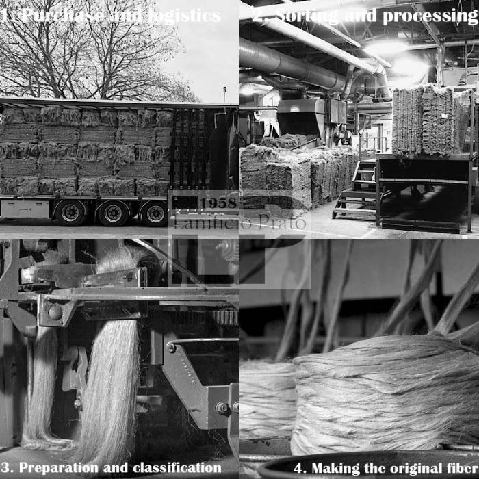 Lanificio Prato: production process
