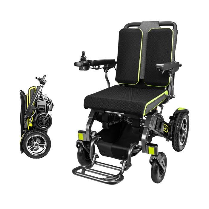 Travel Lightweight Folding Electric Wheelchair