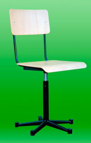 Swivel chair.