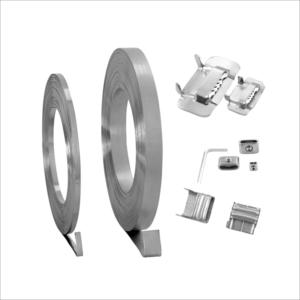 Band and buckle clamping system