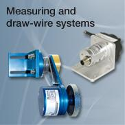 Measuring and draw-wire systems