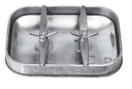 Rectangular autoclav manlids 310-420mm or 400-530