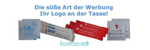 Zuckersticks mit Logo