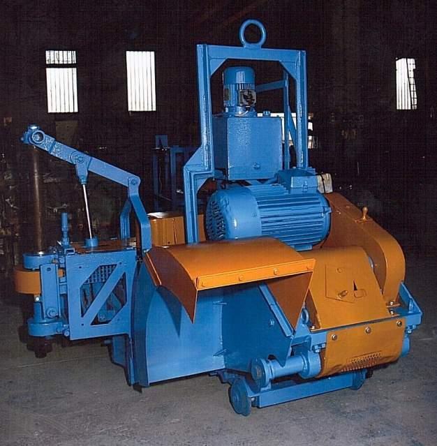 Stone quarry cutting machine