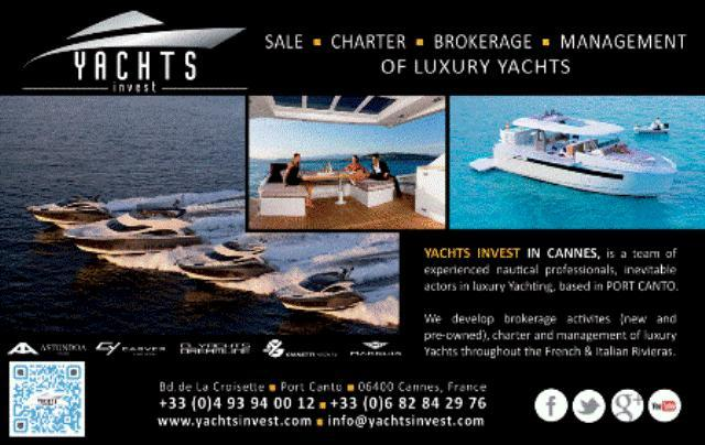 Yachts Invest Cannes