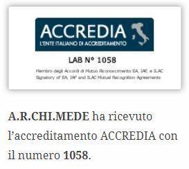 accreditamento ACCREDIA