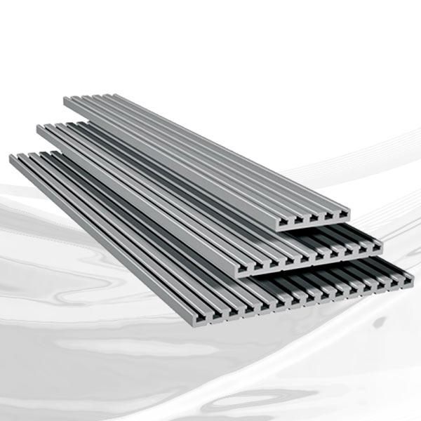 Aluminum profiles and accessories