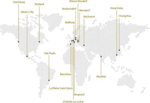 Isovolta weltweit