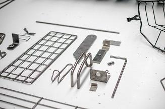 Small wire parts and different dimensions