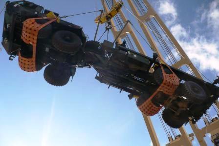 Trucknet lifting