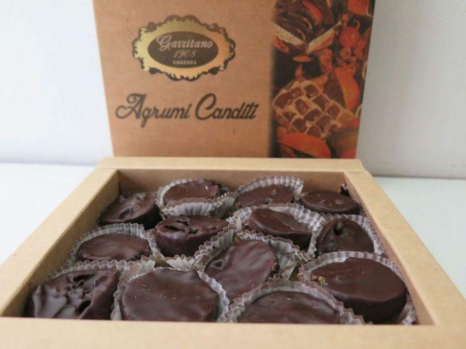 Agrumi ricoperti al Cioccolato