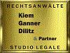STUDIO LEGALE RECHTSANWÄLTE - DR. KIEM - DR. GANNER - DR. DILITZ & PARTNER