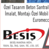 BESIŞ MAKINA BETON ENGINEERING SPARE PARTS LTD