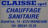 CHAUFFAGE CLAISSE