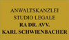 RECHTSANWALTSKANZLEI - SCHWIENBACHER RA DR. AVV. KARL - STUDIO LEGALE
