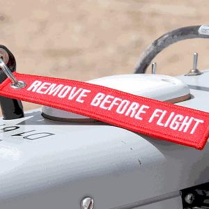 Portachiavi Remove Before Flight