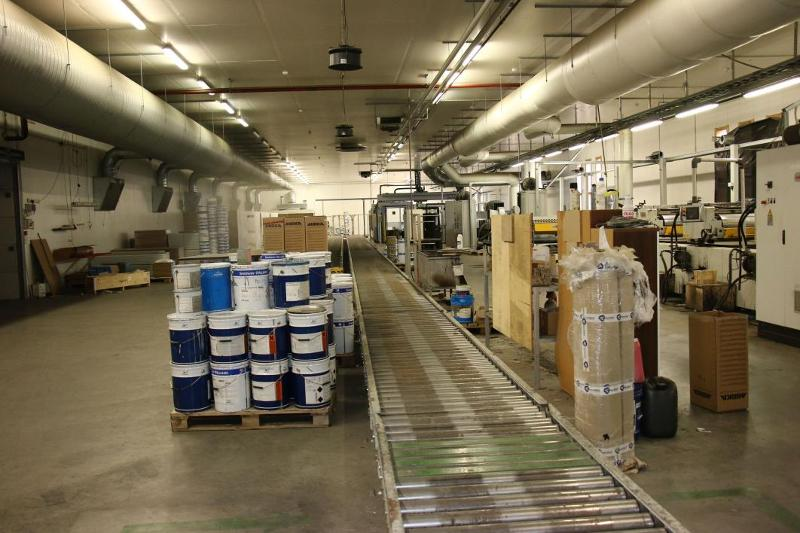 CEFLA Complete Lacquer Coating Print Line including...