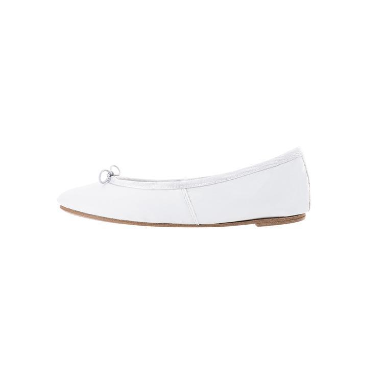 nouveau style de large choix de couleurs super pas cher se compare à Chaussure de mariage blanche, Ballerine blanche pour mariée ...