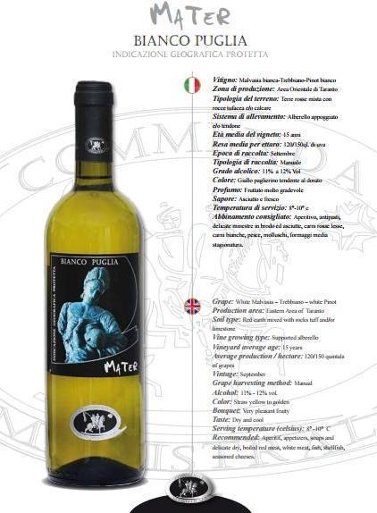 BIANCO PUGLIA  -MATER-