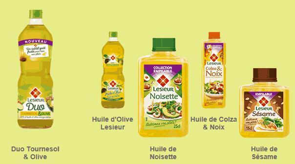 huile colza ou arachide