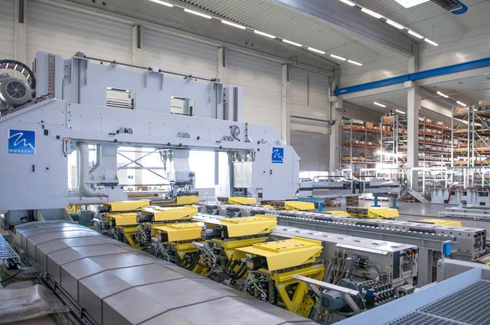 Aluminium Bandsägetechnik zum Herstellen von Platten...