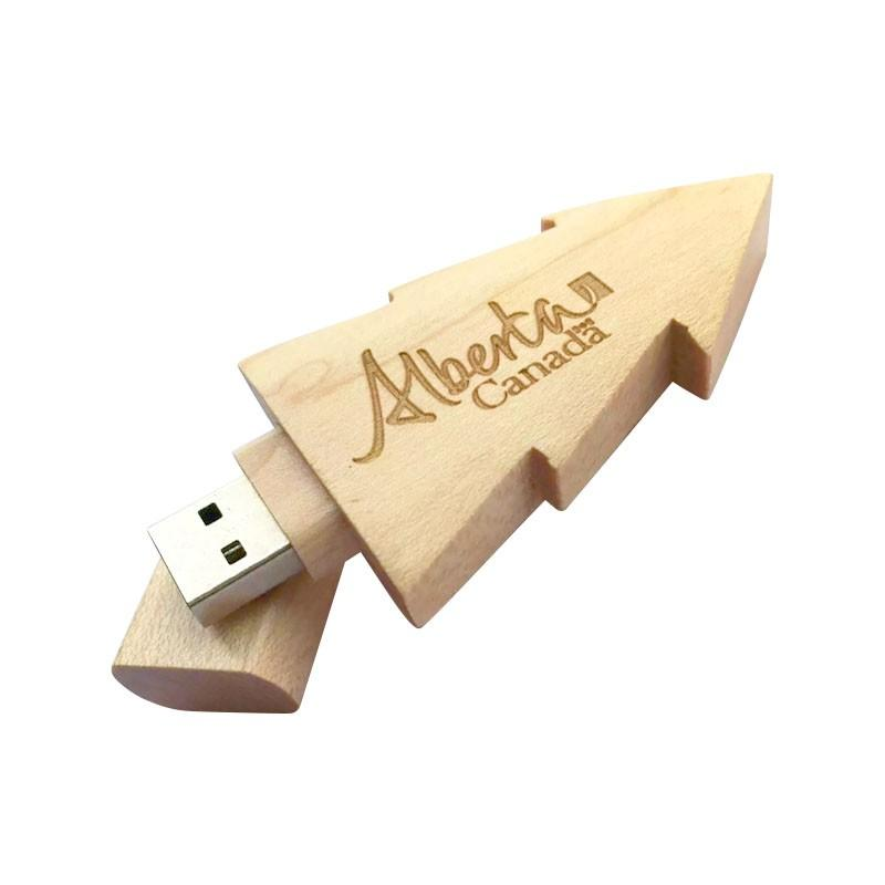 Clé USB Sur Mesure Bois, Clé USB sur mesure, E-DKADO, France