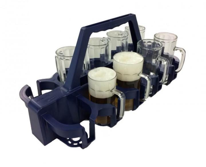 Atka Kunststoffverarbeitung Gmbh bierkrugträger für 10 gläser 0 5 l bierflaschen atka