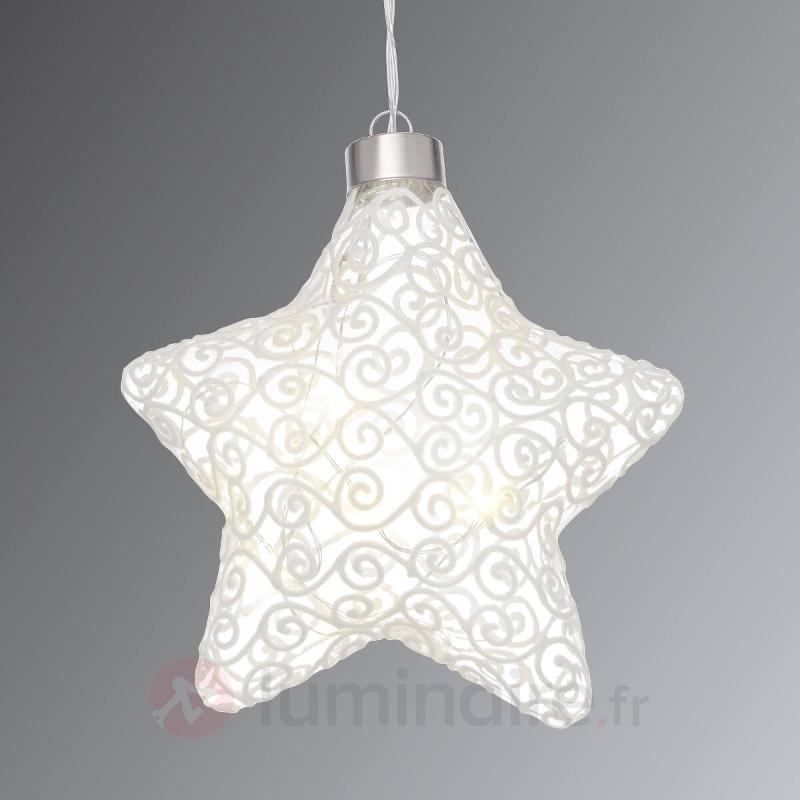Lampe Deco Led Windi Etoile Avec Fonction Timer Decoration Pour