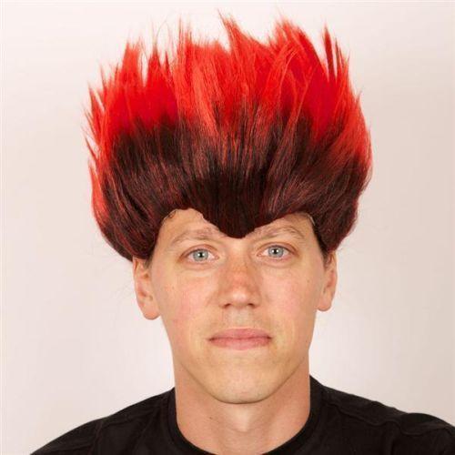 Perruque homme rouge, Décoration et déguisements