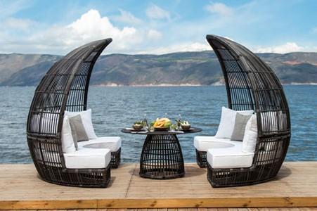 Excellent Ourdoor Furniture Sofa Rattan Artie Garden Booth No Home Interior And Landscaping Ologienasavecom