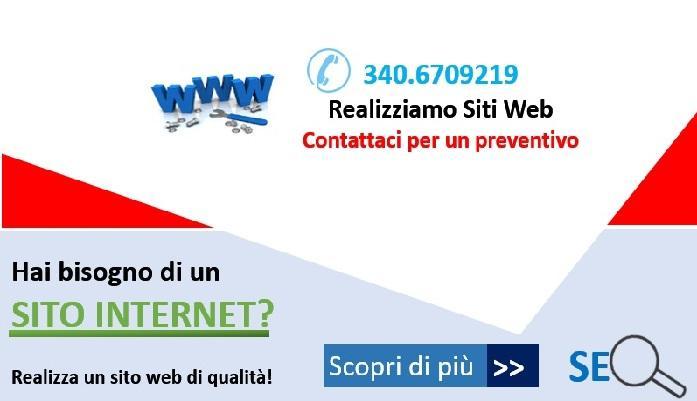 Siti internet indicizzati e posizionati