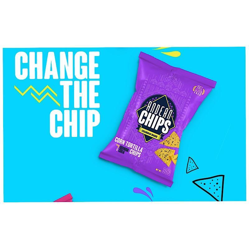 Wechsle den Chip! Gesunde Andenchips Ecuador