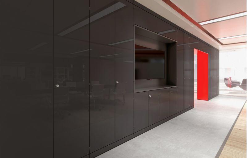 Office Storage Modular Wall System Abox