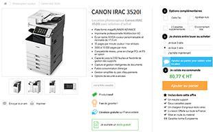 Louer Photocopieur Professionnel 36 Mois Ou 60 Mois Deb Shop France