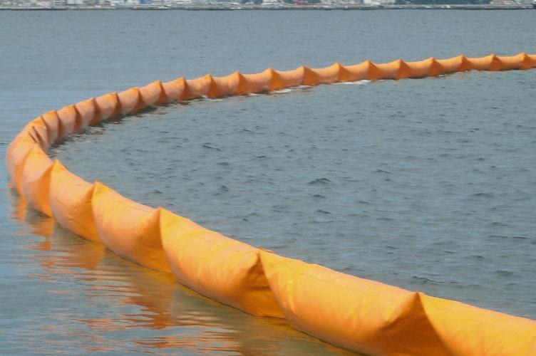 Barrages flottants anti-pollution GRINTEC