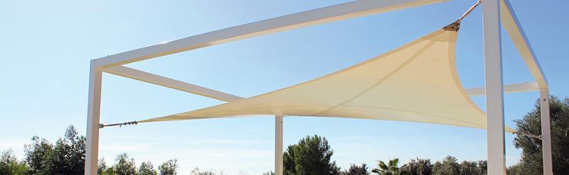 Abris De Terrasses Voills Couverture Design Voile Tendue