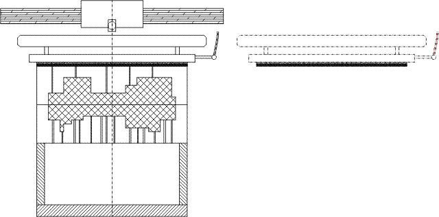 Druckfeste Begasungsplatte / Schießkopfplatten