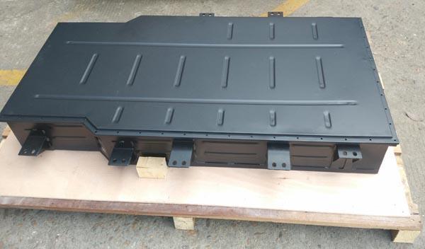 Aluminum alloy power battery tray