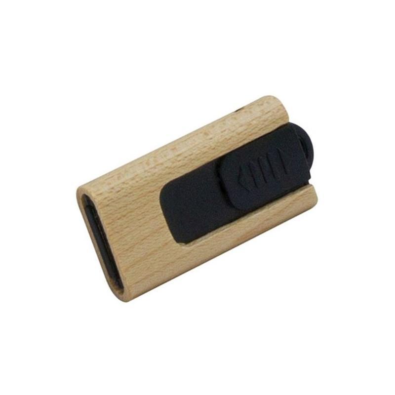 Clé USB Bois Rétractable, Clé USB Bois & Biodégradable, E