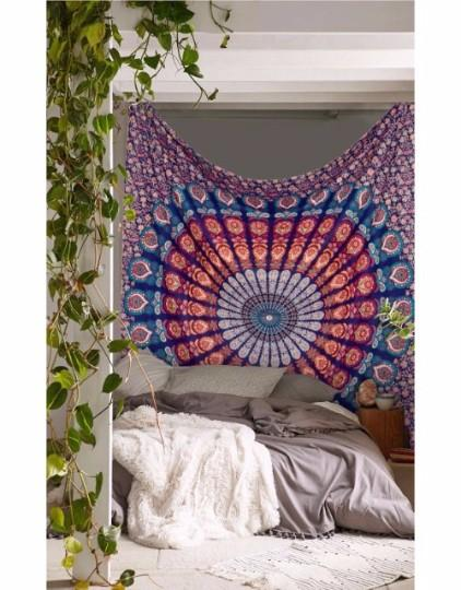 Hippy Mandala Wall Hanging Home Decorative Bohemian Tapestry