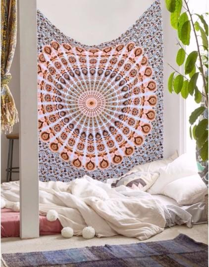 Indian Mandala Wall Hanging Hippie Boho Home Decor Tapestry